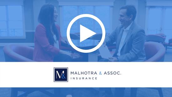 Malhotra and Associates insurance | Video Testimonials